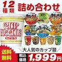 人気のカップ麺 12種類 詰め合わせセット[送料無料 カップラーメン 詰め合わせ カップ麺 アソート