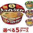 送料無料 マルちゃん 和庵 (なごみあん)選べる合計5ケース(60個)セット[東洋水産