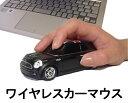 車型マウス ワイヤレスカーマウス ミニクーパーS ブラック 黒 ユニオンジャックルーフ LANDMICE 2.4G MINI COOPER S BLACK UK 藤昭