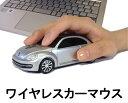 車型マウス ワイヤレスカーマウス フォルクスワーゲン ザ・ビートル シルバー 銀 LANDMICE 2.4G VolksWagen The Beetle SILVER 藤昭