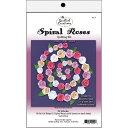 クイリングキット Spiral Roses - White, Ivory & Pink