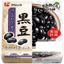 ふじっ子 もっちすっきり 黒豆 62g×2パック 145円【 フジッコ おまめさんシリーズ 豆...