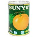 サンヨー 和梨 4号缶 1缶 330円【 SANYO フルーツ缶詰 国産 4つ割 】