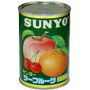 サンヨー ツーフルーツ 4号缶 406円
