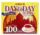 日東紅茶 DAY&DAY ティーバック 100袋 420円