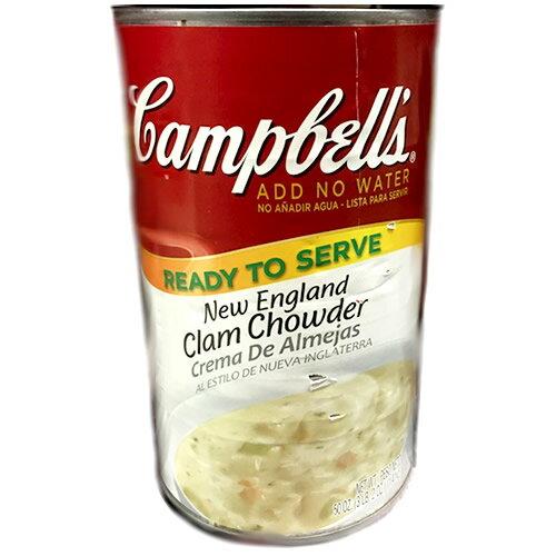 キャンベル クラムチャウダー 1.4kg×2缶 1452円【 campbell スープ コストコ costco 】