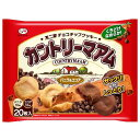 不二家 チョコチップクッキー カントリーマアム バニラ&ココア 20枚入り 285円