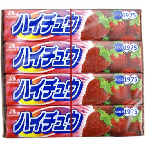 morinaga森永草莓味果汁软糖12条装