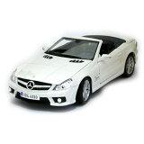Mercedes Benz SL63 AMG White 1/18 Maisto 3333円 【メルセデス ベンツ,ホワイト,オープンカー ミニカー】