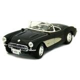 1957 Chevrolet Corvette C1 bk 1/18 2315【ダイキャストカー,シボレー,コルベット,アメ車,マッスルカー,クラシックカー,マイスト,ミニカー】