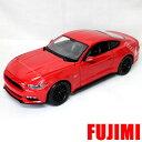 2015 Ford Mustang GT Red 1:18 Maisto 2686円 【 フォード マスタング レッド ミニカー ニューモデル マイスト ダイキャストカー 1/18 】【コンビニ受取対応商品】
