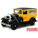 1931 Ford Model A yel 1/18 CocaCola DELIVERY TRUCK 9167円 【 ダイキャストカー フォード モデルA 黄 コカコーラ アメ車 ミニカー クラシックカー ホットロッド 】【コンビニ受取対応商品】