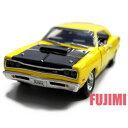 1969 DODGE CORONET SUPER BEE yel 1/24 MOTOR MAX 3612円【ダッジ コロネット 黄,アメ車 スーパー ビー モー...