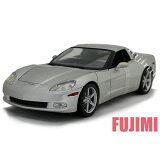 2005 Chevrolet Corvette Coupe slv 1/18 Maisto 2117 【ミニカー シボレー コルベット クーペ アメ車 銀】