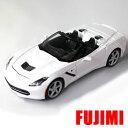 2014 Corvette Stingray wht 1/24 Maisto 3612円