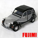 CITROEN 2CV 6 Charleston gry 1/24 WELLY 3612�~ �y �V�g