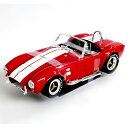 SHELBY COBRA 427 S/C Red 1/18 Shelby COLLECTIBLES 11113円【シェルビー,コブラ,アメ車,シェルビーコレクティブルズ,ダイキャストカー,ミニカー】