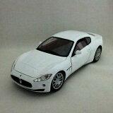 Maserati Gran Turismo wht 1/18 MOTOR MAX 5463 【 マセラティ ダイキャストカー マセラッティ グランツーリスモ ミニカー ダイキャストカー 】