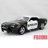 2006 DODGE CHALLENGER Concept POLICE 1/18 Maisto 6389【 ダッジ チャレンジャー V8エンジン パトカー ミニカー アメリカンポリス 警察 ダイキャ