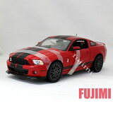 2013 FORD SHELBY GT500 red 1/18 Shelby Collectible 10186【 フォード シェルビー ミニカー マスタング 赤 アメ車 マッスルカー mustang