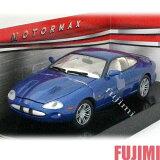 JAGUAR XKR blu 1/24 MOTOR MAX 3149【 ジャガー XK R 青 ブルー イギリス車 Eタイプ ミニカー ダイキャストカー 】