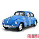 Volkswagen Beetle blu 1/24 WELLY 3143円 【 VW,ミニカー,ワーゲン,ビートル,カブトムシ,青,レトロ】