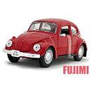 Volkswagen Beetle red 1/24 Maisto 3143円 【 VW,ミニカー,ワーゲン,ビートル,カブトムシ,赤,レトロ】
