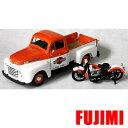 1948 Ford F-1 & H-D FL PanHead 1/24 Maisto 2686円 【 フォード Harley Davidson ミニカー マイスト ハーレー ダビッドソン ダイキャストカー トラック ピックアップ パンヘッド バイク モーターサイクル クラシック 】