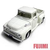 1956 FORD F-100 PICKUP wht 1/25 MOTOR MAX 3334 【ダイキャストカー,フォード,アメ車,ピックアップ,トラック,F-100,1/24,白,ミニカー】