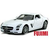 Mercedes-Benz SLS AMG wht 1/24 Welly 3300 【メルセデス,ベンツ,白,ミニカー,SLS,AMG ドイツ車 スーパーカー】