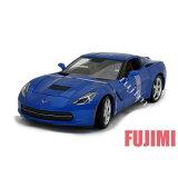 2014 Corvette Stingray blu 1/18 Maisto 1904 【 ダイキャストカー シボレー コルベット スティングレイ 青 】 【 05P11Jan14 】