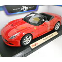Ferrari California T ot red 1/18 Maisto 2685円【 フェラーリ カリフォルニア 赤 マイスト イタリア車 ミニカー ダ...