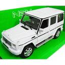 Mercedes-Benz G-Class White 1/24 Welly 3612円【メルセデス ベンツ 白 ホワイト ダイキャストカー ミニカー】【151019】【コンビニ受取対応商品】