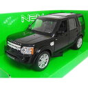 LAND ROVER Discovery 4 Black 1/24 WELLY 3612円【 ランド
