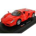 Enzo Ferrari red 1/24 Bburago 【フェラーリ,エンツォ・フェラーリ,赤 レッド,ブラーゴ,ミニカー,ダイキャストカー】【150205】