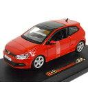 VW Polo GTI Red 1/24 Bburago 4167円【 フォルクスワーゲン ポロ 赤 レッド ブラーゴ ミニカー ダイキャストカー Volkswagen コンパクトカー 】【160205】【コンビニ受取対応商品】