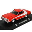 1976 FORD GRAN TORINO Starsky&Hutch Red 1/43 Green