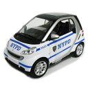 Smart - NYPD SMART 1/24 New Ray 3519円 【 スマート NewYork Police Department ミニカー ニューレイ ダイキャストカー モデルカー アメリカン パトカー ポリス 】【コンビニ受取対応商品】