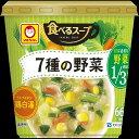 マルちゃん 食べるスープ 7種の野菜鶏白湯 155円x6