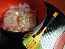 【京菓子】涼味あふれる冷菓です京の葛しずく(葛きり抹茶蜜)