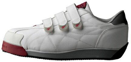 【送料無料】DIADORA(ディアドラ)安全靴IBIS(アイビス)【ホワイト】品番:IB-11【メーカー直送品、代引・コンビニ受取不可】