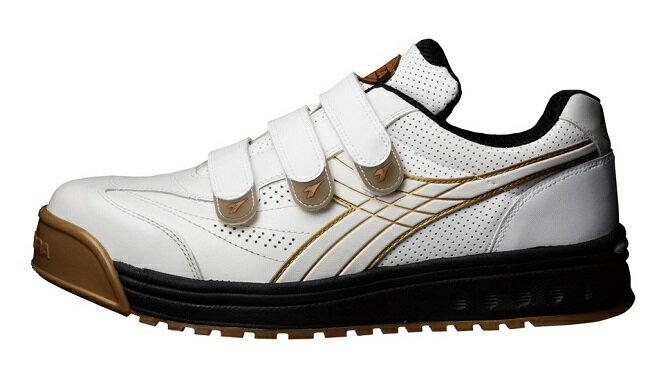 【送料無料】DIADORA(ディアドラ)安全靴ROBIN(ロビン)ホワイト品番:RB-11【メーカー直送品、代引・コンビニ受取不可】