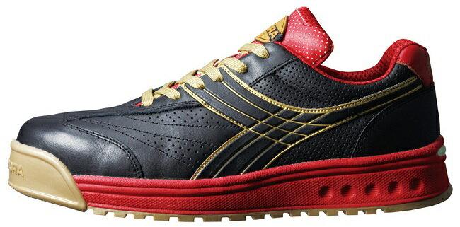 【送料無料】DIADORA(ディアドラ)安全靴PEACOCK(ピーコック)【ブラック】品番:PC-22【メーカー直送品、代引・コンビニ受取不可】