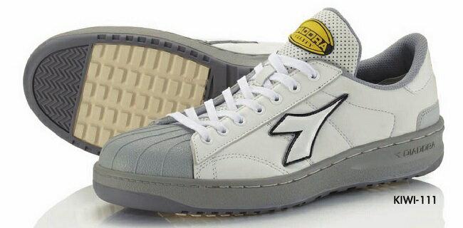 【送料無料】DIADORA(ディアドラ)安全靴KIWI(キーウィ)【ホワイト】品番:KW-111【メーカー直送品、代引・コンビニ受取不可】