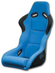 REAL SPORTS フルバケットシート(FRP)ブルー