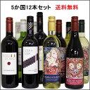 12本全世界ワインセット フランス イタリア スペイ