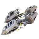 nakira 流れるバイクウインカー シーケンシャル 4個 カスタム Z250 MT-25 CB250F Z1000 GSX-S1000 MT-09 MT-07 nkr1082