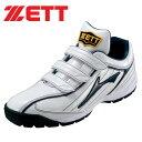 ラフィエット RX ゼット(ZETT) 【野球・ソフト】 トレーニングシューズ  ホワイト×ネイビー(bsr8256-1129)