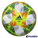 コネクト 19 キッズ / FIFAクラブワールドカップUAE2018 公式試合球レプリカ4号球モデル / 2019FIFA女子ワールドカップ 公式試合球レプリカ4号球モデル(AF400) サッカーボール 4号 ホワイト×イエローアディダス(adidas)