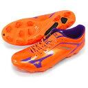 バサラ 001 MD (p1ga156168) オレンジ×パープル ミズノ(Mizuno) サッカースパイク